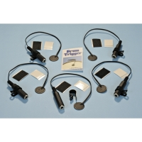 DrumDial Drum Triggers Set of 5 with Clip Mounts (DDT-5)
