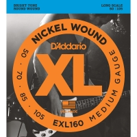 D'Addario EXL160 Nickel Wound Bass Medium Long Scale 50-105 (EXL160)