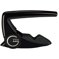 G7th Performance 2 Guitar Capo Steel String Black (G7P2BK)