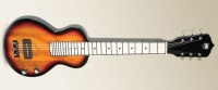 Recording King RG-32-SN Lap Steel Guitar Gloss Sunburst Mahogany (RG-32-SN)