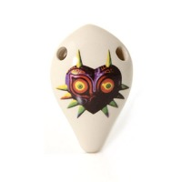 Songbird Ocarina Majora's Mask Pendant Style Ocarina from the Legend of Zelda (SO-MAJORA-PENDANT)