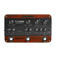 Fishman TONEDEQ Class A Preamp EQ All In One Processor with Reverb, Delay, Comp (TONEDEQ)