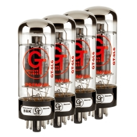 Groove Tubes GT-6L6-GEQ-M 6L6 GE Reissue Medium Performance Matched Quartet (5550113506)