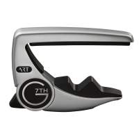 G7th Performance 3 Steel String Guitar Capo - Silver G7P3SL (G7P3SL)