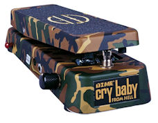 Dunlop DB01 Dimebag Signature Crybaby From Hell Wah Pedal (JD-DB-01)