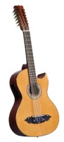 Lucida Bajo Sexto Mariachi Guitar with 4-Band EQ Pickup LG-BS1-E (LG-BS1-E)