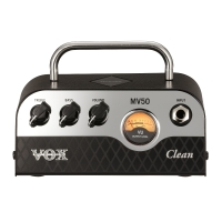 Vox MV50 CL Clean 50 Watt NuTube Mini Amp Head (MV50-CL)
