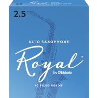 Rico Royal Alto Saxophone Filed Reeds Box of 10 (RJB10)